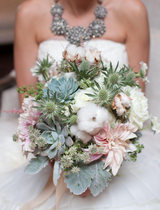 Organic Pink Wedding