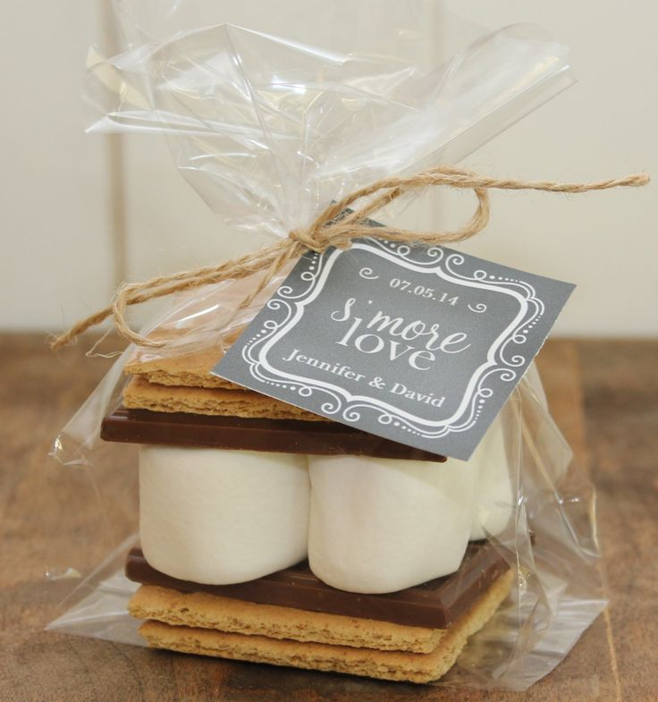 S'mores Wedding Favor Kits
