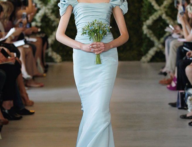 Blue Wedding Gown