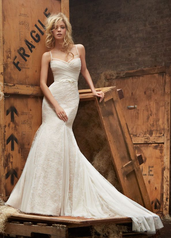 Ivory White Wedding Dress
