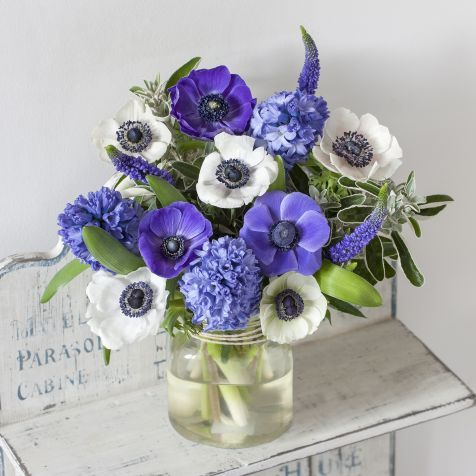 Blue wedding flowers for your perfect something blue yep we blue wedding flowers for your perfect something blue yep we love that idea too junglespirit Images