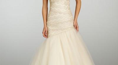 Ecru White Wedding Dress