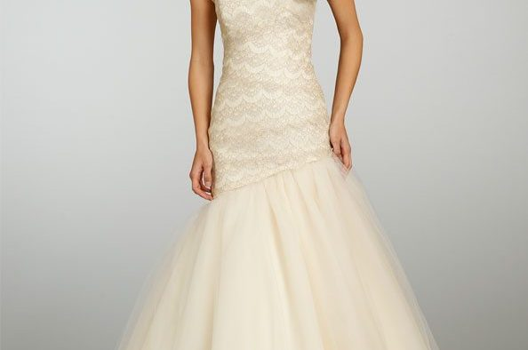 Ecru White Wedding Dress