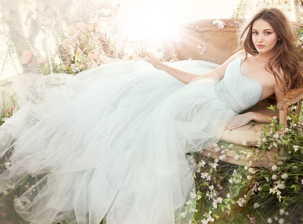 Blue Wedding Gown Dress