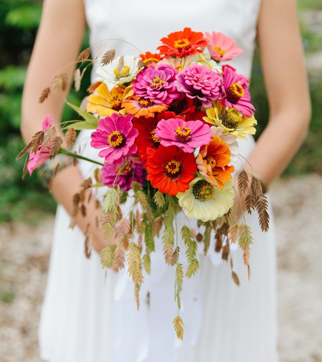 hot pink bouquets