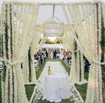 Floral Ceremony Chuppah