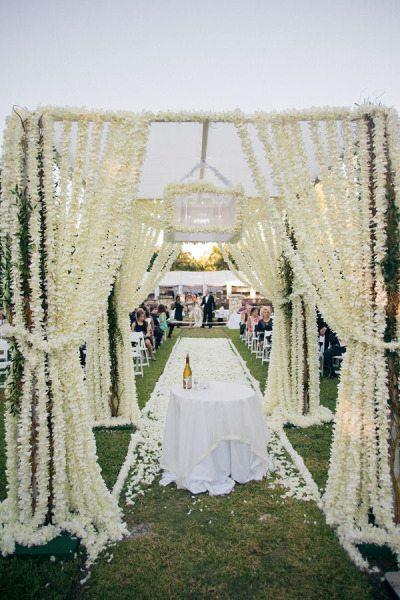 Floral Ceremony Chuppah