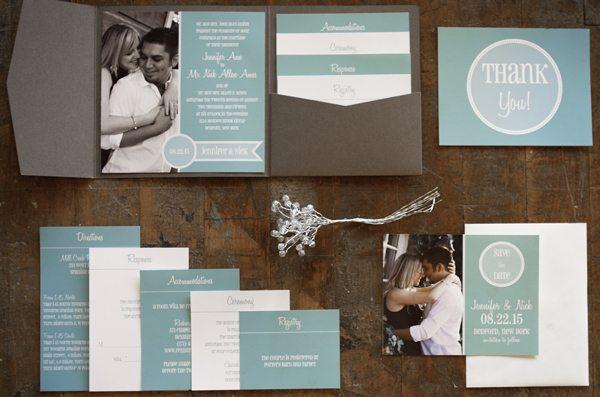 KansasCity_Set wedding invitation