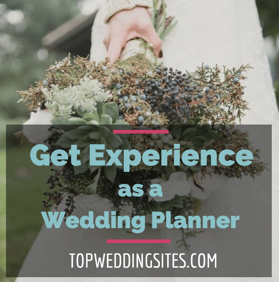 wedding planner experience