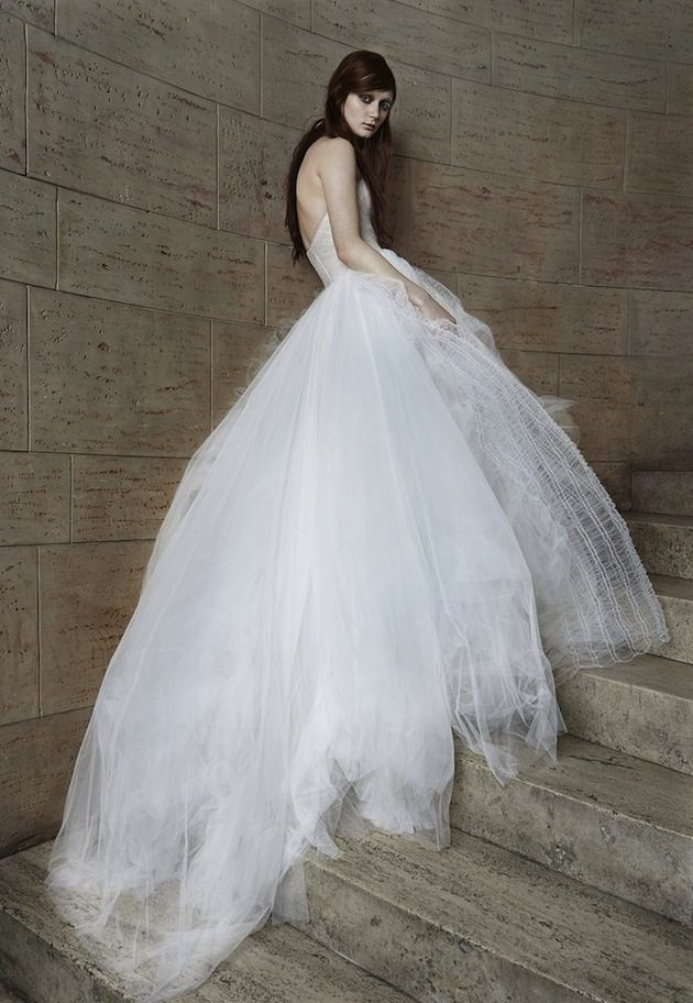 Vera Wang Wedding Dress Collection for Spring 2015 ...