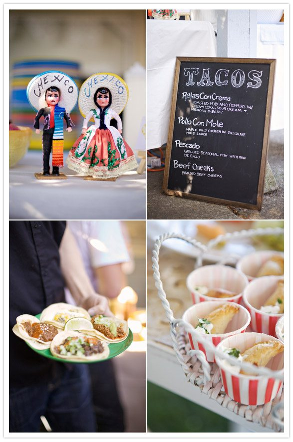 Make Your Own Food Bar Wedding Theme