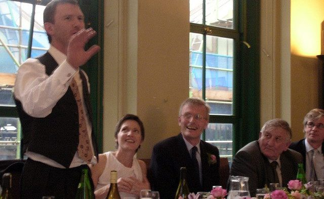 funniest wedding speech