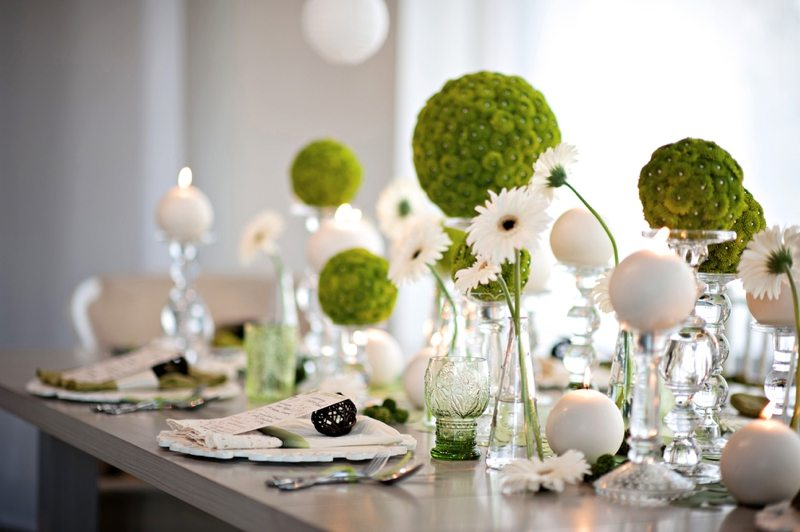Modern White Wedding