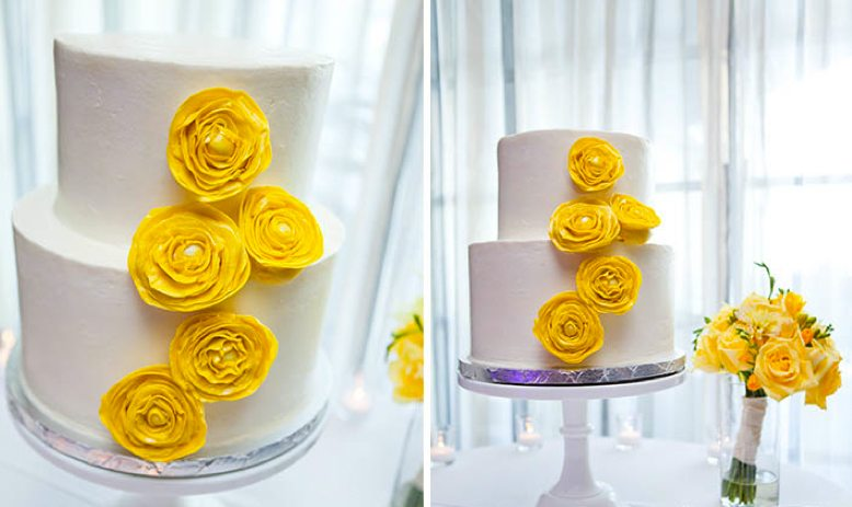 Modern Yellow Wedding