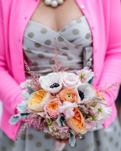 Polka Dot Wedding Details