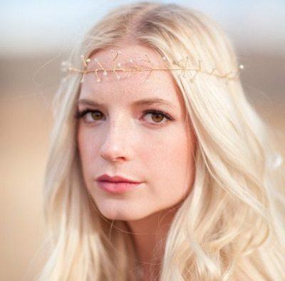 DIY Bead Crown Style Me Pretty