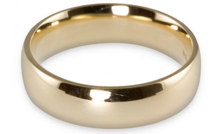 wedding ring gold