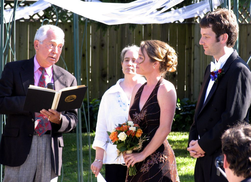 choosing wedding officiant