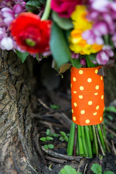 Polka Dot Wedding Details