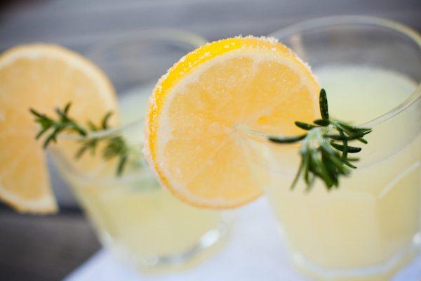 Lemonade & Rum Cocktail