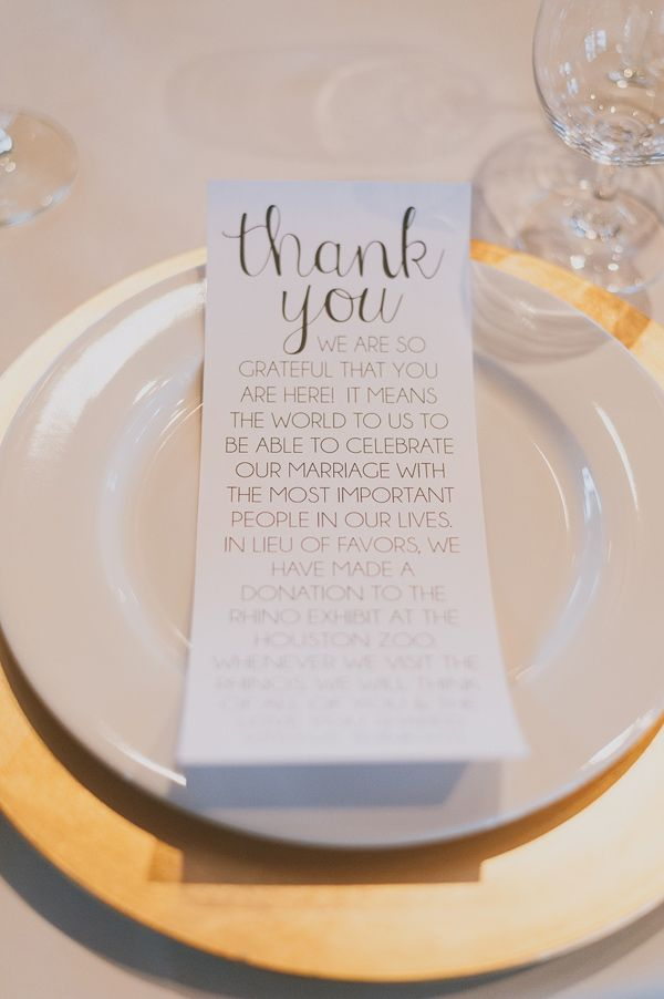 Donation To Charity Instead Of Wedding Gift : Do I Need Wedding Favors?