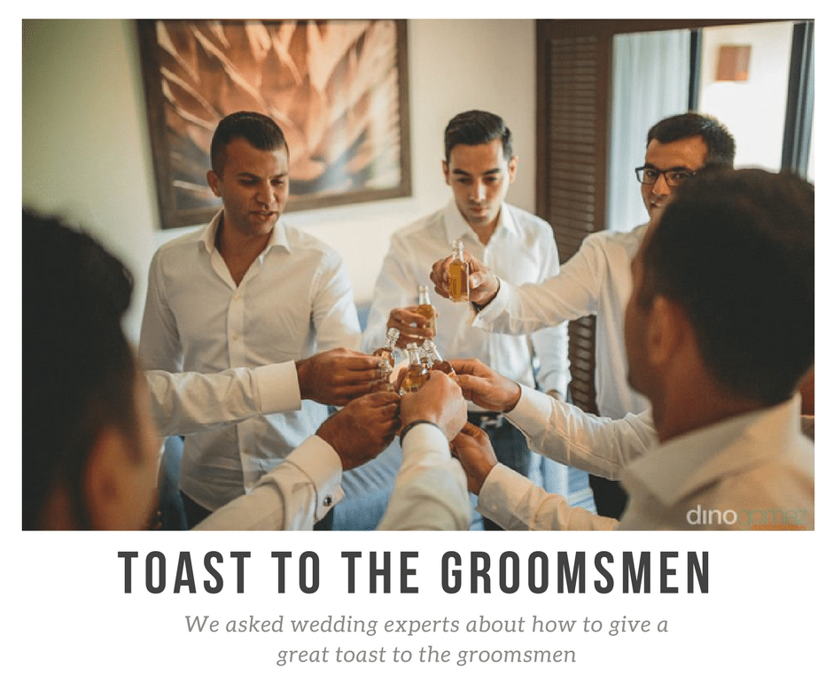 Expert Answers About The Toast To The Groomsmen