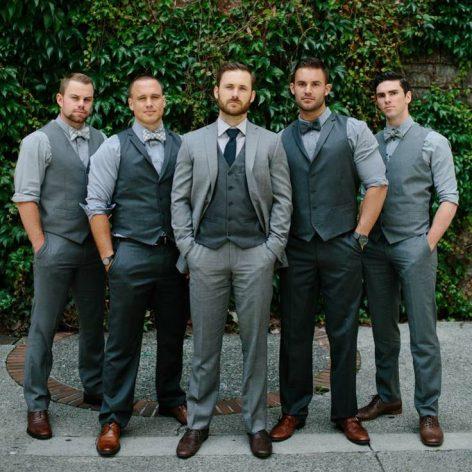 suit vs tuxedo wedding