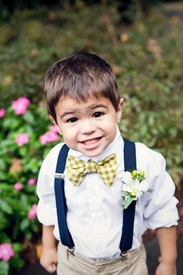 little boys at wedding