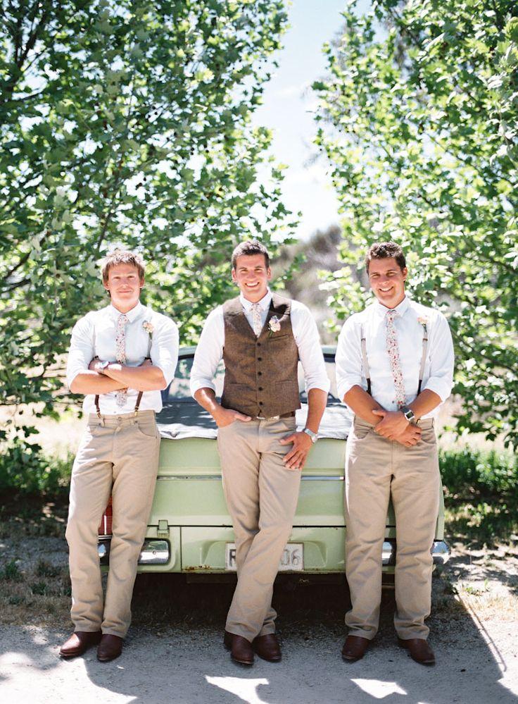 tuxedo vs suit for groomsmen