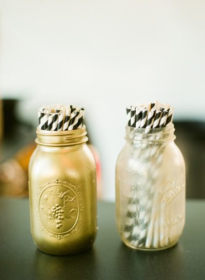 Mason Jar Wedding Decor