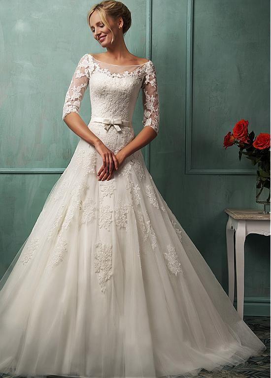 ivory wedding dress question
