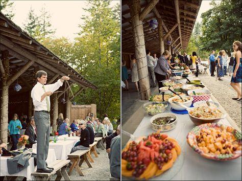 potluck wedding reception