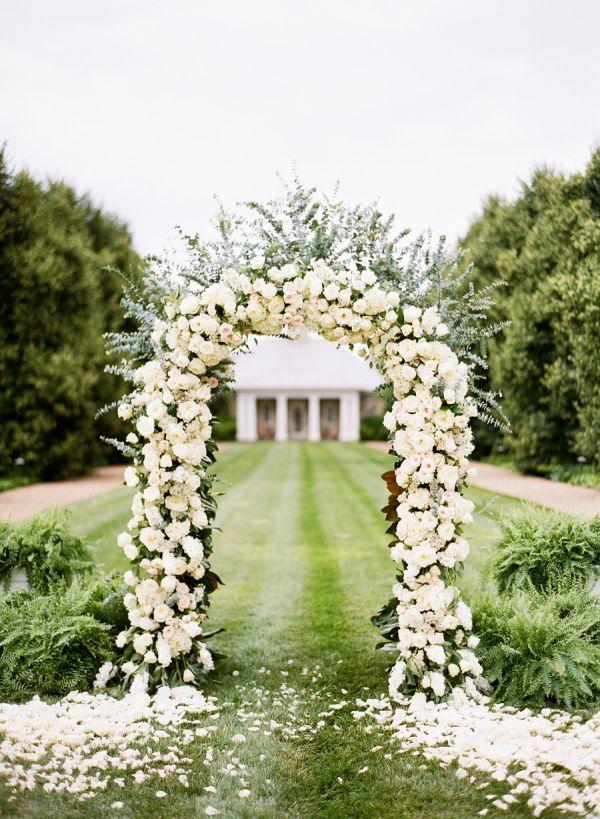 wedding entrance outdoor
