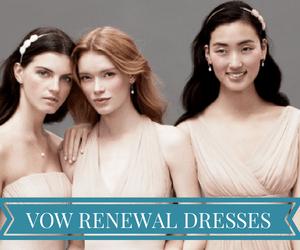 SHOPVOW RENEWAL DRESSES