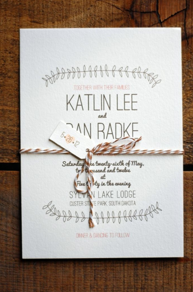Necessary To Send Individual Wedding Invitations