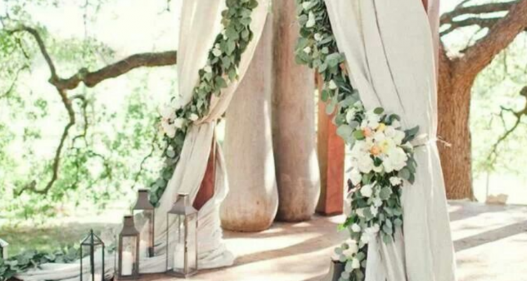 Ideas For Brides Grand Entrance At Outdoor Wedding Ceremony