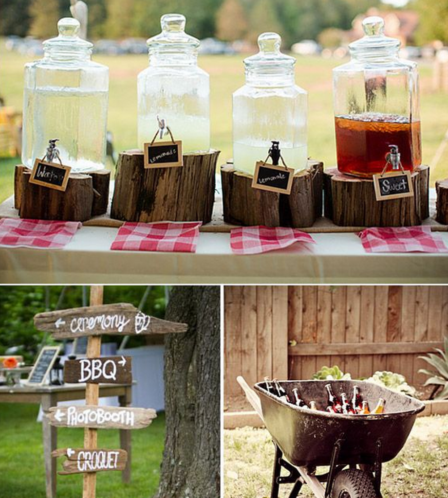 Cowboy Cowgirl Wedding Ideas: Drink Ideas For Western Or Country Weddings