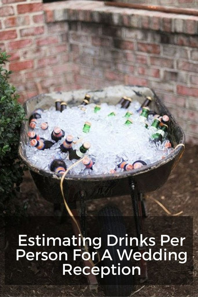 drinks per person wedding reception