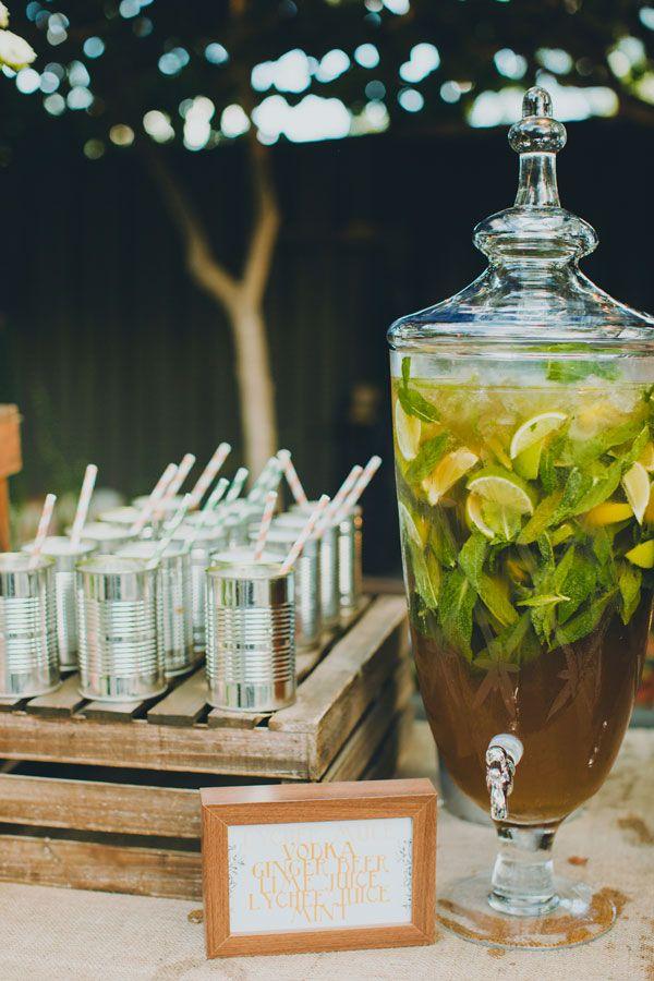 drinks for western wedding
