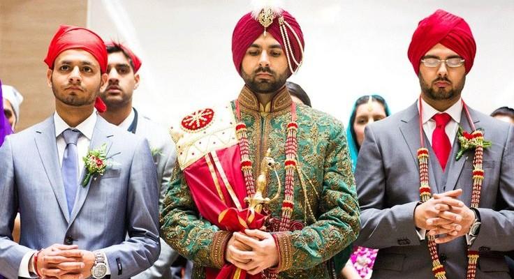 Sikh Wedding Reception Dress Code - Wedding Dresses Asian