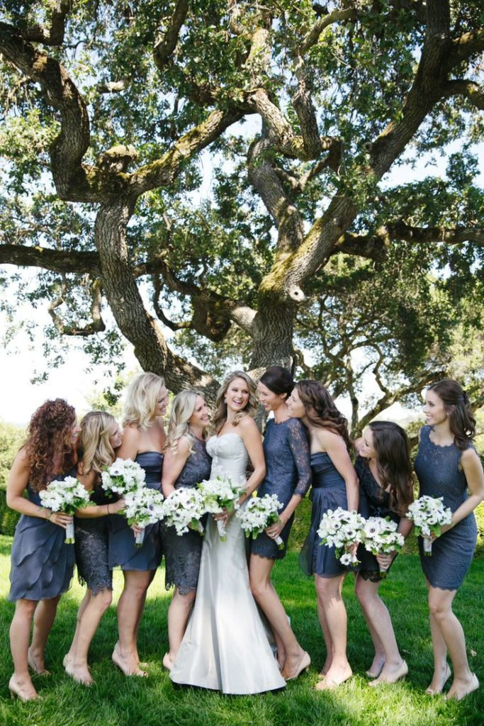 bridesmaid photo cute