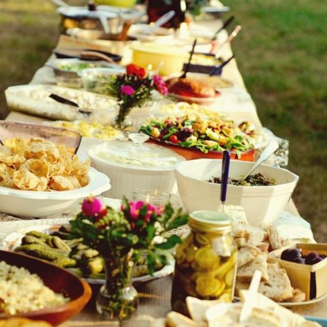 potluck wedding