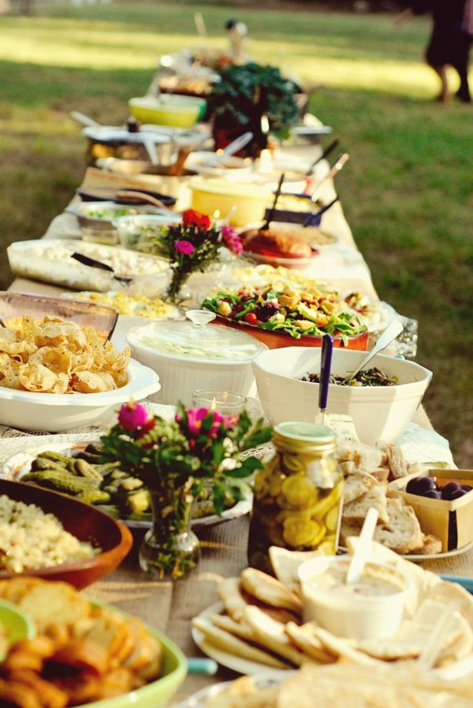 potluck wedding