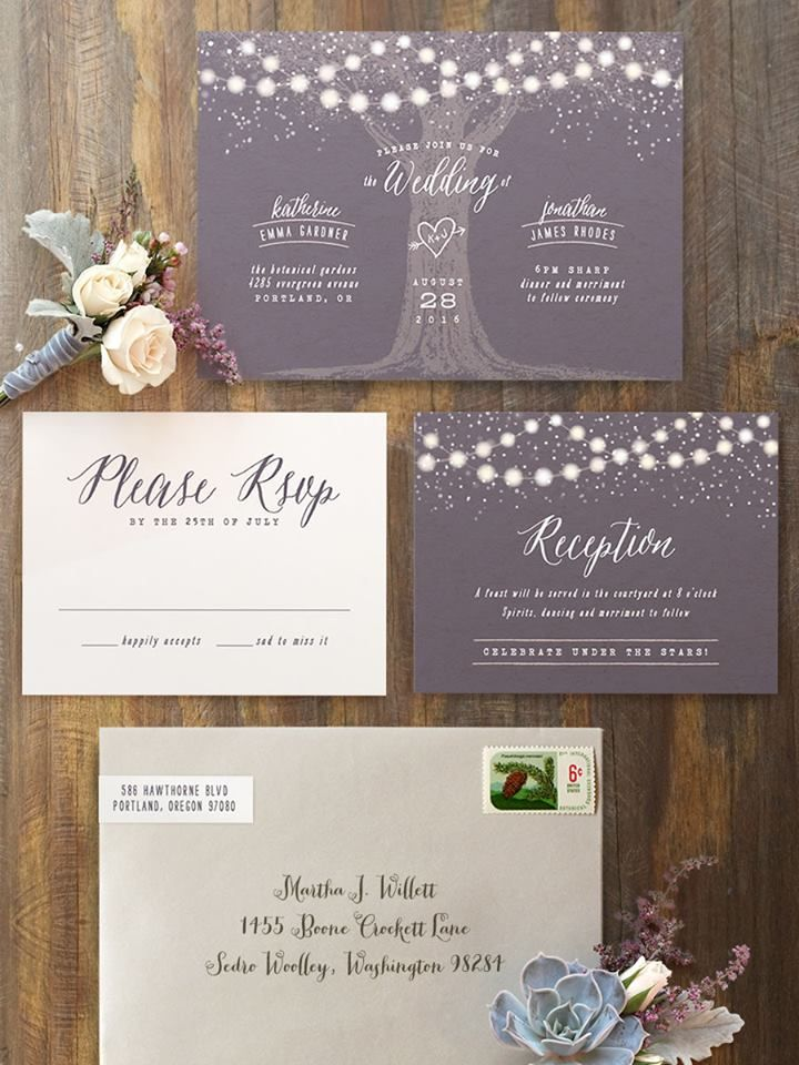Wedding Announcements Vs Invitations Announcement