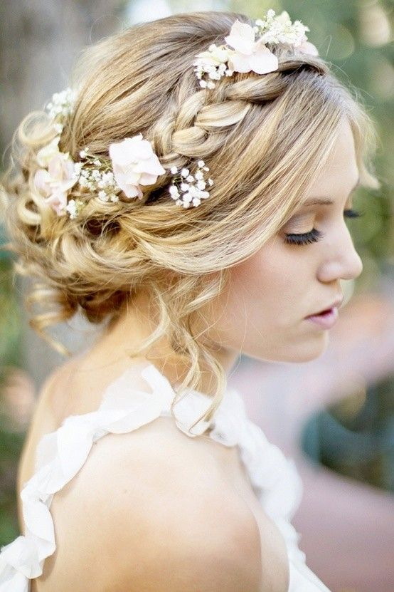 braided updo headband