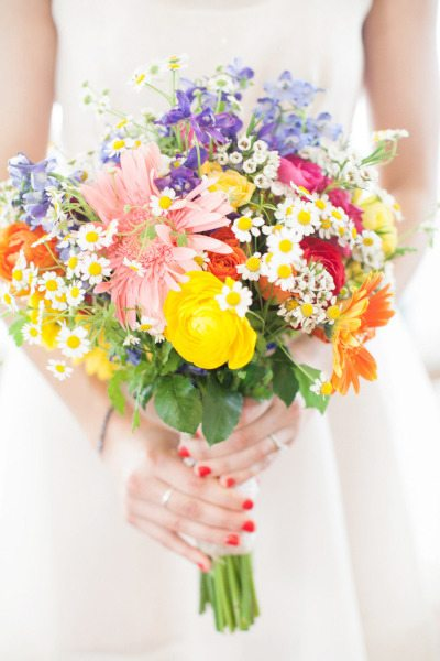 Daisy Wedding Bouquets