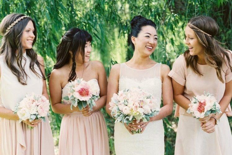 Beautiful Backyard Blush Wedding