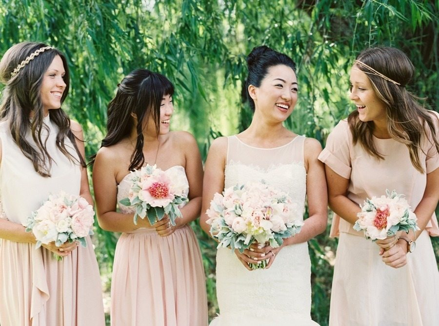 Beautiful Backyard Blush Wedding