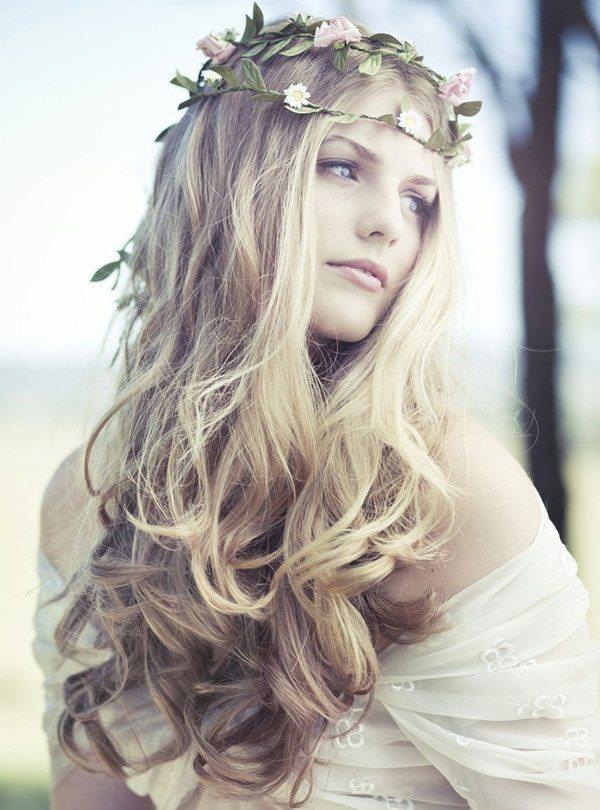 Wild Free Loose Bridal Hair