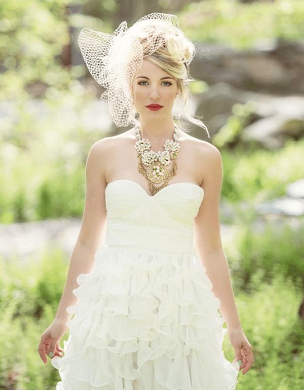 Bold Bridal Beauty